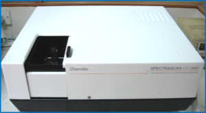 UV - Visible Spectrophotometer